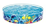 Best Way Rigida Fantasia Mare Cm 183X38 Piscina Gioco Estivo Estate 499, Multicolore, 6942138913774