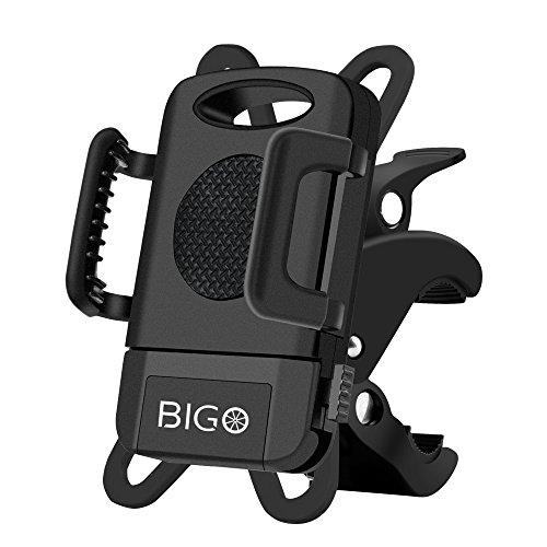 Anti-Shake Fahrrad Handyhalterung BIGO Fahrradhalterung Smartphone Handyhalter Motorrad Halterung Mit 360 Drehen Verstellbar Für Smartphones und GPS
