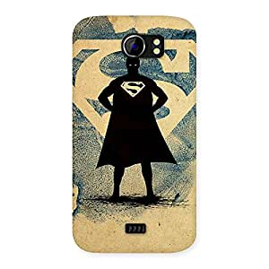 Day Blue Ready Multicolor Back Case Cover for Micromax Canvas 2 A110