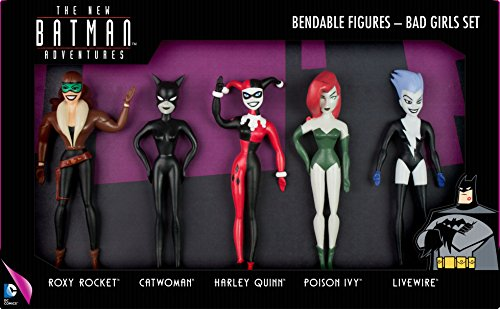 NJ Croce Batman Adventures-Bad Mädchen Set 5-pc biegbarer