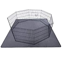 "‏‪Upgrade Non-Slip Dog Pads Extra Large 72"" x 72"", Washable Puppy Pads with Fast Absorbent, Reusable, Waterproof for Training, Travel, Whelping, Housebreaking, Incontinence, for Playpen, Crate‬‏"
