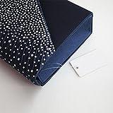 Brand New Ladies Diamond Envelope Clutch Bag Evening Party/ Bridal Wedding/ Hand Bag Navy Blue