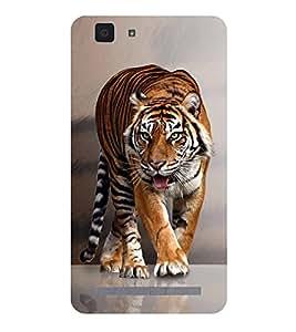 Fuson Designer Back Case Cover for Vivo X5Max :: Vivo X5 Max (Tiger Wild Animal Roaring Animal Fierce ANimal dangerous Tiger)