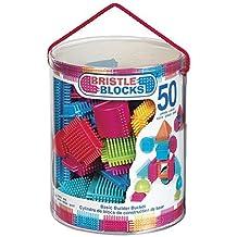 Bristle Block 50 piece Basic builder bucket by Bristle Blocks