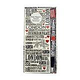 Diseño de las Calles de Londres Frigorífico magnético Bloc de notas y bolígrafo souvenir/Memento sc1391
