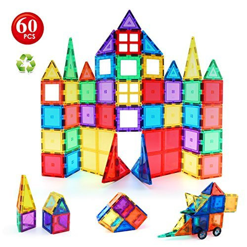 60pcs Magnetic Building Blocks Set - Premium Quality Magnetic Toys For Kids