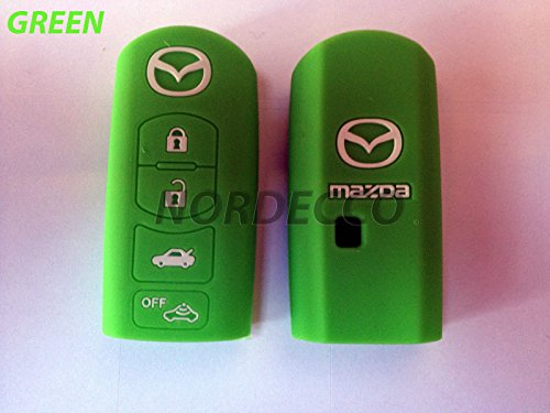 smart-3-4-sans-bouton-fob-coque-en-silicone-protection-decran-mazda-mx-536-cx-5-7-9-vert