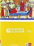 Geschichte und Geschehen 1/2. Ausgabe Rheinland-Pfalz, Saarland Gymnasium: Schülerband Klasse 7/8 (Geschichte und Geschehen. Sekundarstufe I)