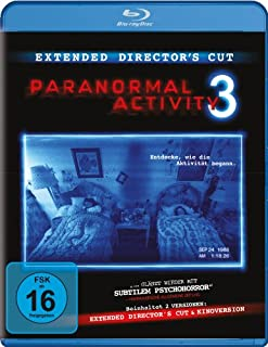 Paranormal Activity 3 (Extended Cut) [Blu-ray] [Director's Cut]