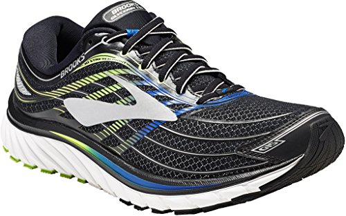 Brooks - BRK_110258_1d_012 Donna da Uomo, Nero (Black/Electric Brooks Blue/Green Gecko), 39.5 B EU