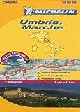 Marche and Umbria Michelin Local Map 359 (Michelin Regional Maps)