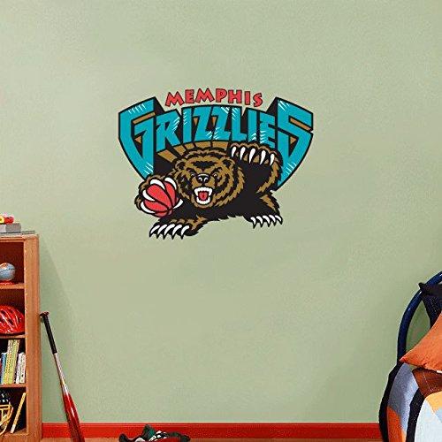 A Basketball Home Decor Art Wall Vinyl Sticker 63 x 48 cm (Nba-memphis)
