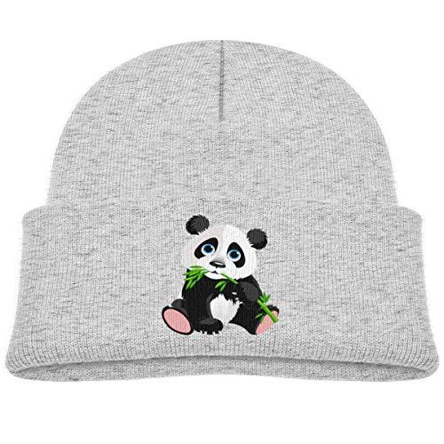 Preisvergleich Produktbild KKAIYA Panda Cute Beanie Cap Knit Hat Toddler Gray