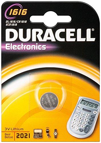 DURACELL Lot de 5 Piles bouton lithium \