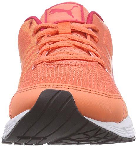 Puma Sequence V2 Wn, Scarpe da corsa Donna Arancione (Orange (fluo peach-rose red-white 03))