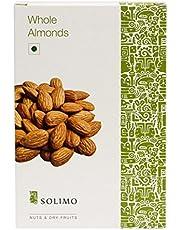 Solimo Premium Almonds, 500g
