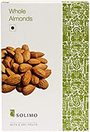 Amazon Brand - Solimo Almonds, 500g