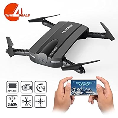Foldable RC Quadcopter Drone, JXD 523W 2.4G 6-Axis Altitude Hold WIFI FPV RC Quadcopter Drone With HD Camera,Fixed Height Mode.