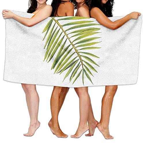 VTXWL Palm Leaf Unisex Fashion Towel Personalized Print Beach Towels -