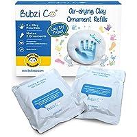 Bubzi Co Ornamento Kit de Arcilla Paquete de 2 y 4 Pack