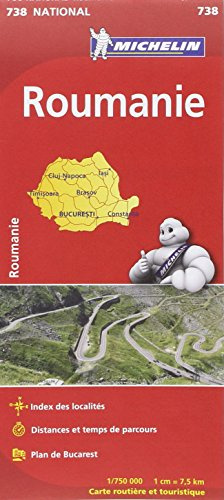 Carte NATIONAL Roumanie par Collectif Michelin