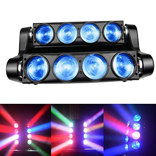 Moving Heads Blitzlicht 100W RGBW LED Bühnenbeleuchtung DMX DJ-Licht Mit GOBO-Muster Für Party-Disco-Hochzeitsclub-Party Und Mehr Leistungsplätze 1