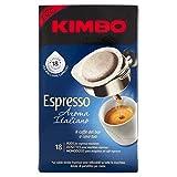 kimbo espresso aroma italiano - 4 confezioni da 18 cialde - [tot 72 cialde]