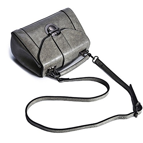 Anne, Borsa a spalla donna nero Gray Black