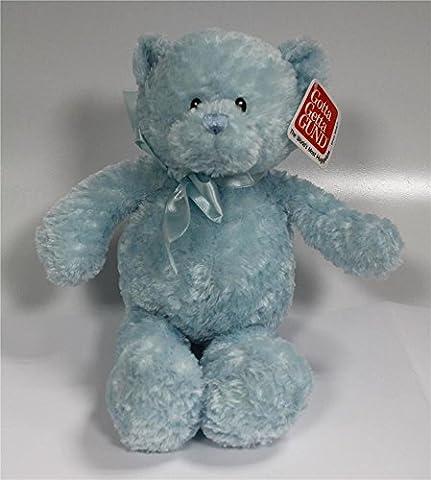 Gund Neugeborene Baby Boy blau 27,9cm Teddy Spieltier Bär Geschenk 46791