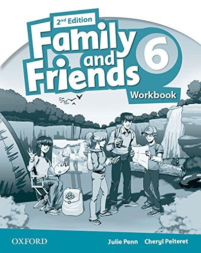 Family & Friends 6: Activity Book 2ª Edición (Family & Friends Second Edition) - 9780194811668 por Julie Penn