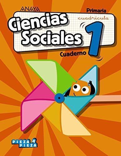 Ciencias Sociales 1. Cuaderno. Cuadrícula. (Pieza a Pieza)