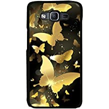 PrintVisa Golden Bird High Gloss Designer Back Case Cover for Samsung Galaxy On7 Pro :: Samsung Galaxy On 7 Pro (2015)