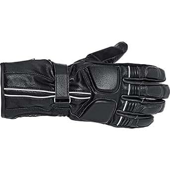 Reusch Motorradschutzhandschuhe, Motorradhandschuhe lang Tourensport Lederhandschuh 1.0 schwarz 10,5, Herren, Tourer, Ganzjährig