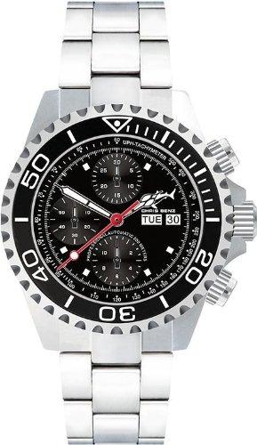Chris Benz Deep 500m Chronograph CB-500A-C1-MB Cronografo automatico uomo Orologio da immersione