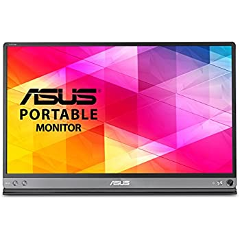 "ASUS MB16AC 15.6"" Full HD IPS Brillo Gris pantalla para PC - Monitor (39,6 cm (15.6""), 220 cd / m², 1920 x 1080 Pixeles, 5 ms, Full HD, IPS)"