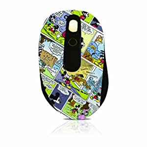 Disney Mickey Mouse DSY-MW2130 Wireless PC Laptop Computer Optical Mouse