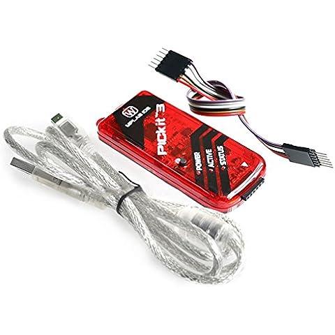 PICkit 3 Kit3 Emulador Programador Pic Microcontrolador depurador Programador
