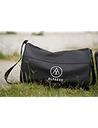 ALFAEXE Classic Waterproof Sports Gym & Travel Bag For Casual, Classy & Vibrant For Men And Women