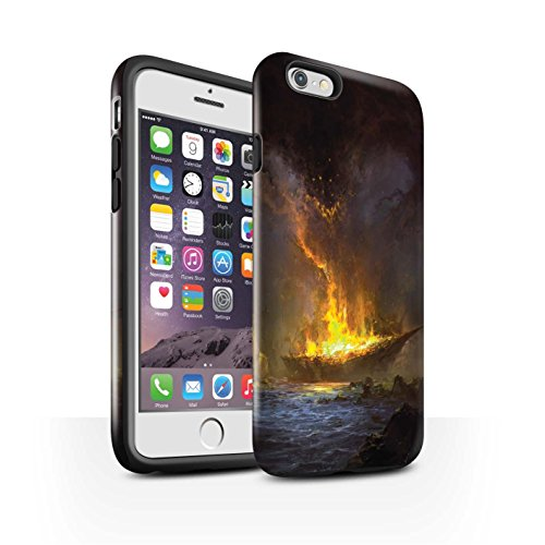 Offiziell Chris Cold Hülle / Glanz Harten Stoßfest Case für Apple iPhone 6 / Apokalypse Muster / Gefallene Erde Kollektion Schiffswrack