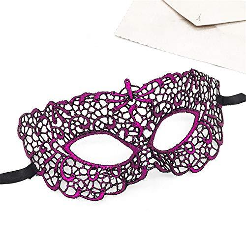 Zorux – PF Party Spitze Maske Maskenball Maske Karneval Fasching Kostüm Dekoration für Frauen Mädchen Weihnachten Mascara Party ()