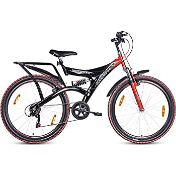Hero  Sprint Fazer 26T 18 Speed  Mountain Bike (Black Red, Ideal For : 12+ Years )