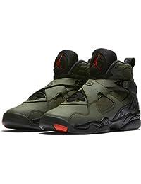 Nike - Air Jordan Viii Retro BG - 305368305 - Color: Verde-Negro - Size: 36.5 lislnJSsG