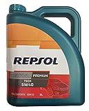 Aceite Repsol Premium Tech 5W40 5L