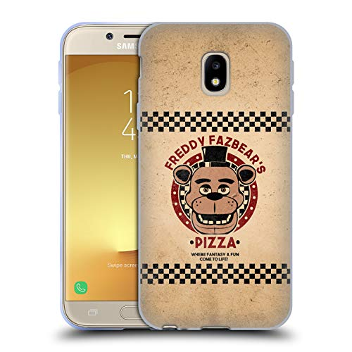 Official Five Nights At Freddy's Freddy Freddy Fazbear's Pizza Soft Gel Case for Samsung Galaxy J3 (2017)