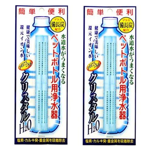 PET-Flaschen f?r Wasserreiniger Kristall H2O 2-tlg (Japan Import / Das Paket und das Handbuch werden in Japanisch)