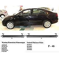 Spangenberg 370004603 - Listones de protección Lateral para Seat Toledo IV Hatchback (Modelos a Partir