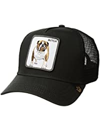 Gorra trucker negra perro bulldog Butch de Goorin Bros.