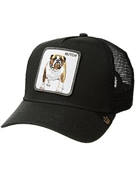 Gorra trucker negra perro bulldo
