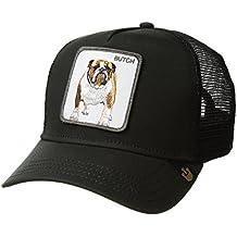 Gorra trucker negra perro bulldog Butch de Goorin Bros. d12713def47