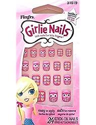 Little Fing'rs Faux-ongles auto-adhésifs et parfumés pour enfants